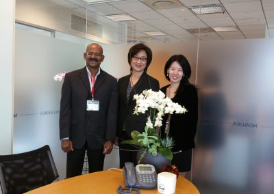 With CEO & Head I.T., Nomura Asset Mgmt.