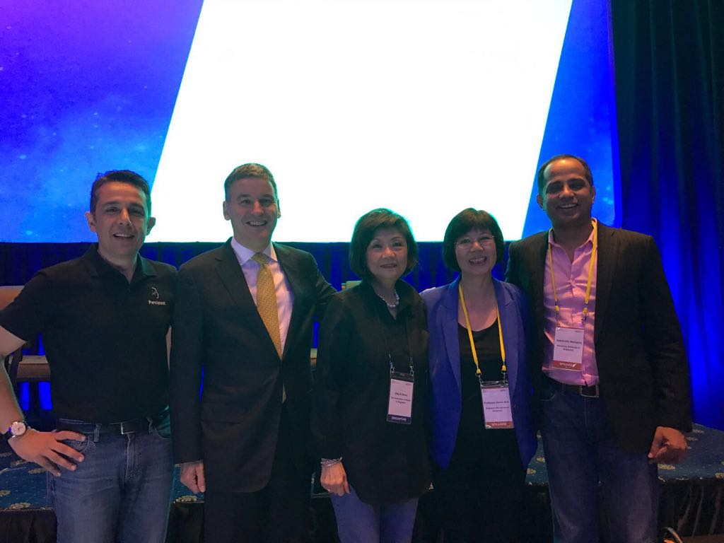 With Jonathan Larsen, Ong-Ang Ai Boon, Annie Koh, Sopnendu Mohanty