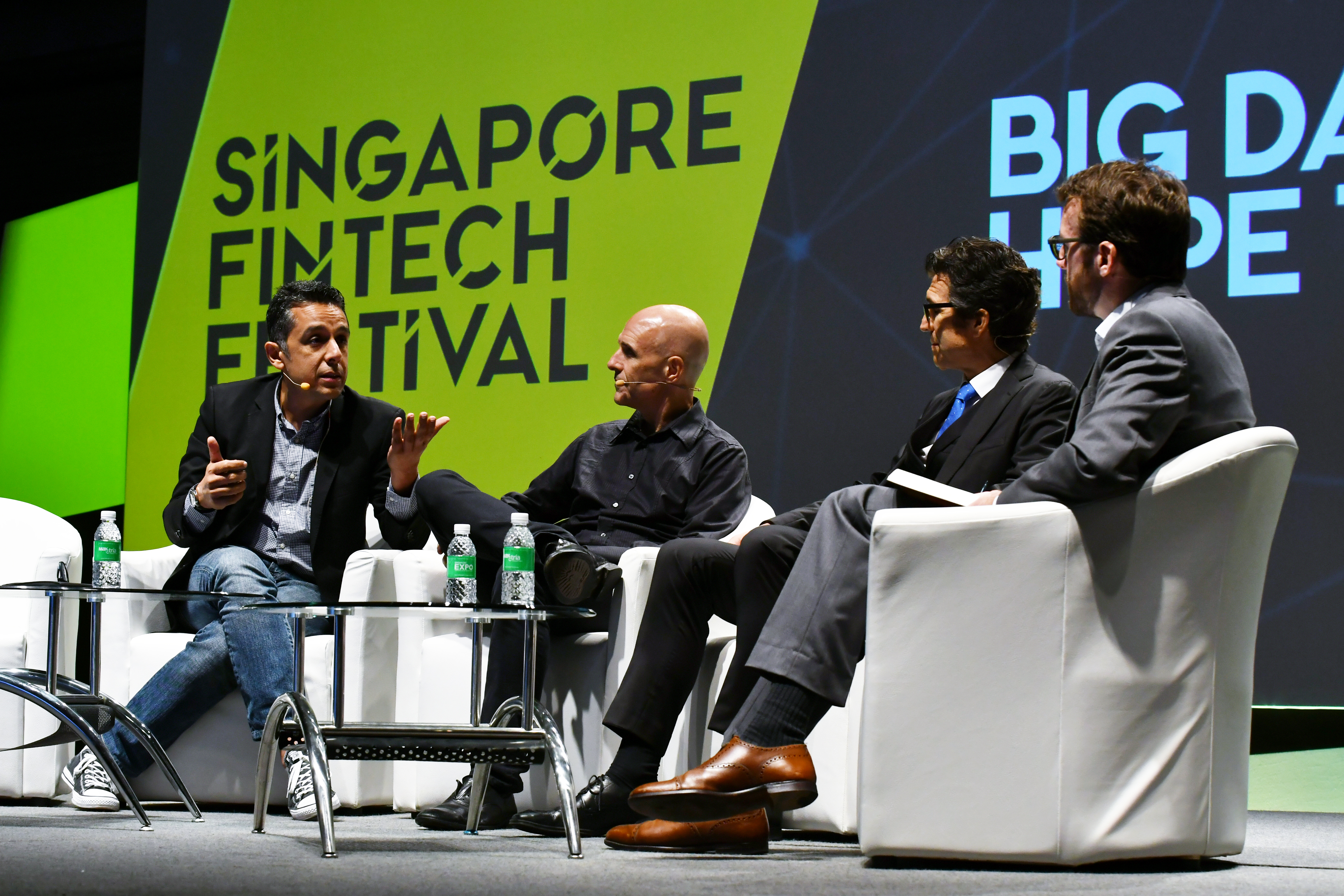 Panel Discussion at Inaugural Singapore Fintech Festival