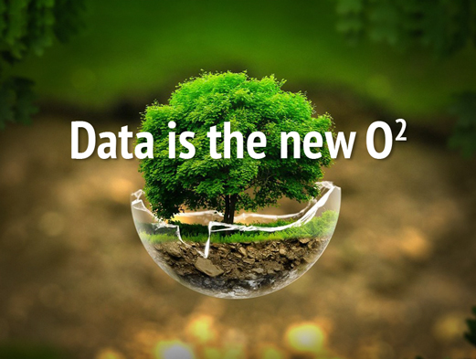 Oil is old. DATA is the NEW Oxygen.