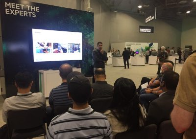 DK hosting a 'Meet-the-Experts' session at HPE Discover